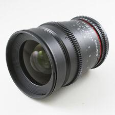 Samyang 35mm T1.5 AS UMC Aspherical Lens VDSLR for Canon EOS video 5D III 700D