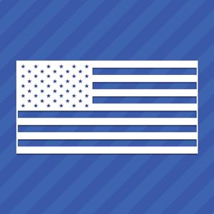 American Flag Vinyl Decal Sticker United States Of America