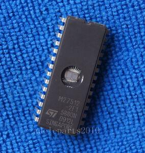 5pcs M27512-2F1 M27512 NMOS 512K 64K x 8 UV EPROM