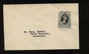 Ascension Island coronation cover 1953 CR0313