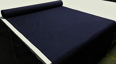 "SPL 6 YDS ARCADIA OUTDOOR AWNING MARINE BOAT COVER FABRIC NAVY ARC10 60""W"