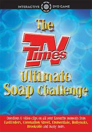 1 of 1 - TV Times - Ultimate Soap Challenge Interactive (DVDi, 2005)