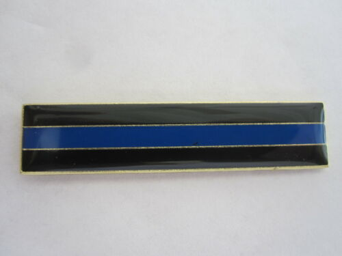 Police Citation Bar THIN BLUE LINE Enamel Thin Blue Line Cops Merit Badge