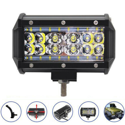 "1 Pair 84W LED Work Fog Light 5/"" 20000LM Car Truck Jeep SUV Spot Flood Bar Lamp"