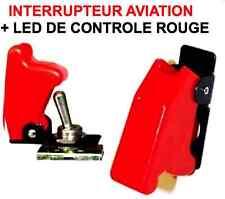 SUPERBE INTERRUPTEUR AVIATION CAPOT+LED ROUGE! ORECA GT2I COMPETITION WTCC VHC