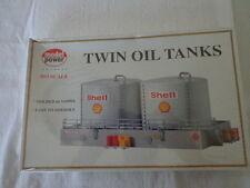 MODEL POWER 1:87  HO SCALE SHELL TWIN OIL TANKS