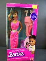 Barbie Doll 1982 Vintage Twirly Curls Black Aa African American