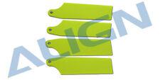 Align Trex 450L 470L (69mm) Tail Blade Fluorescence Yellow (NEW) HQ0693B
