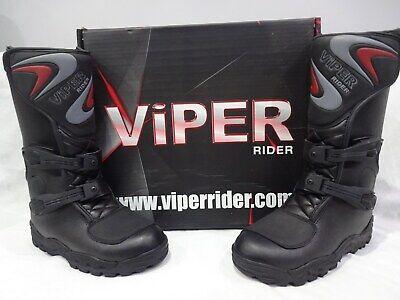 Black VIPER Rider K156 Kids MX Boot Size 28//10