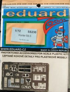 Eduard-1-72-SS230-Zoom-Etch-for-the-Revell-Hawker-Hunter-Mk-6-kit