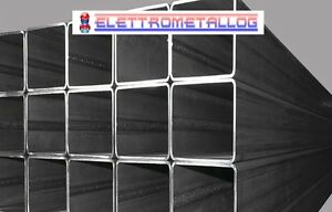 Profilo barra quadrato scatolare tubo ferro acciaio for Ferro tubolare quadrato prezzo