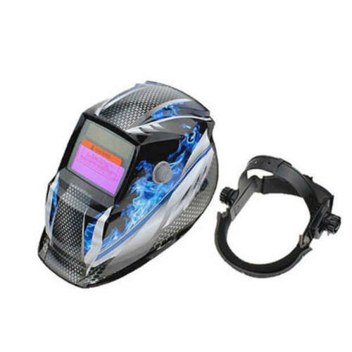 Pro Solar Powered Auto Darkening Welding Helmet Grinding TIG Welder Mask Lens