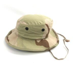 NEW-US-Military-Desert-Camouflage-Boonie-DCU-Type-II-Hot-Weather-Sun-Hat-Cap