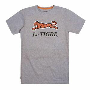 Le-Tigre-Grey-Classic-T-Shirt