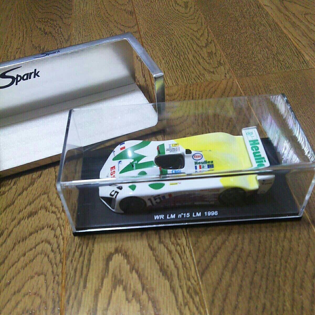 Spark 1 43 WR LM  15 Le Mans 1996 S0337