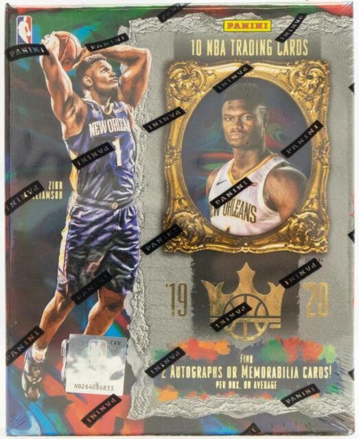 2019-20 Panini Court Kings Basketball Hobby Box Factory Sealed NEW #3