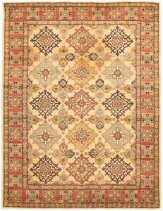 Hand-knotted-Carpet-4-039-11-034-x-6-039-8-034-Finest-Gazni-Traditional-Rug