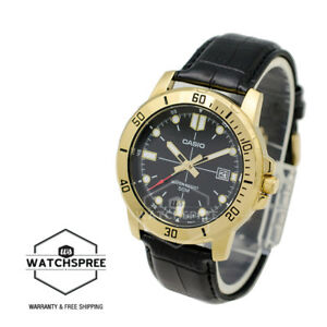 Casio-Men-039-s-Diver-Look-Standard-Analog-Watch-MTPVD01GL-1E