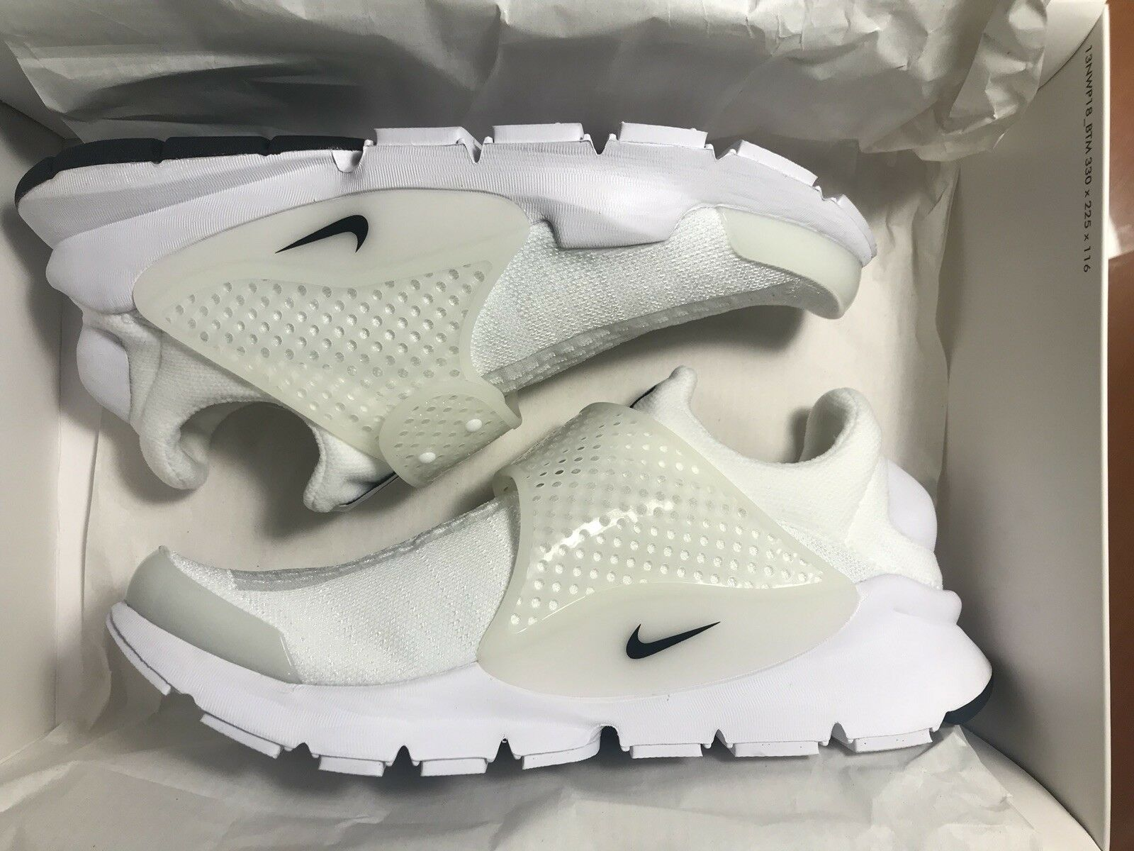 Nike Sock Dart Independence Day Pack US8, White, NEW, DS, International shipping