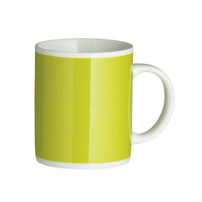 Set Of 2 & 4 Tea Coffee Mugs  Choice Of 12 Funky Colours Bright Colour Mugs New