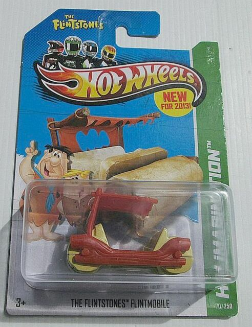 THE FLINTSTONES FLINTMOBILE ~ HOT WHEELS 2013 IMAGINATION