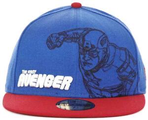 84c086e5615 New Era Marvel Captain America First Avenger Outline 59Fifty Fitted ...