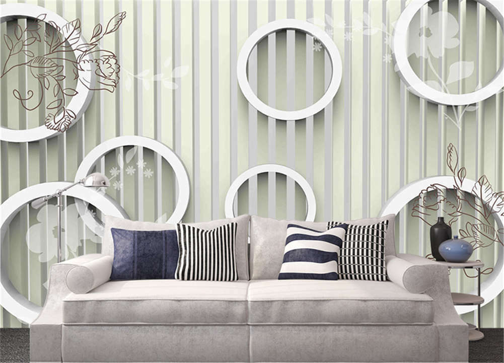 Orderly Right Grids  3D Full Wall Mural Photo Wallpaper Printing Home Kids Decor