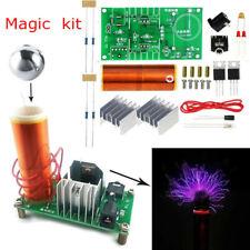 Diy Kit Mini Tesla Coil Plasma Speaker Set Electronic Field Music Proje Sh