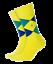 thumbnail 2 - Discount-30-BURLINGTON-Socks-Tights-King-21020-Sock-Short-Cotton-Rhombus-40-46