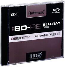 Artikelbild Intenso Blu-Ray Disc Intenso BD-RE 2x (25GB) 5er Case Rohlinge