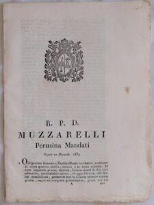 SENTENZA SACRA ROTA PERUGIA OBBLIGAZIONE GIOVANNI BATTISTA MAZZI VANNUTELLI 1832