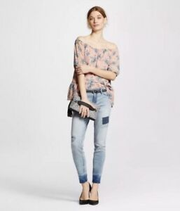 6c46ff710a022 Women's Mossimo Jeans Skinny Mid Rise Jegging Light Blue Size 00 ...