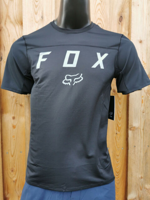 Fox Flexair Moth SS Jersey Black