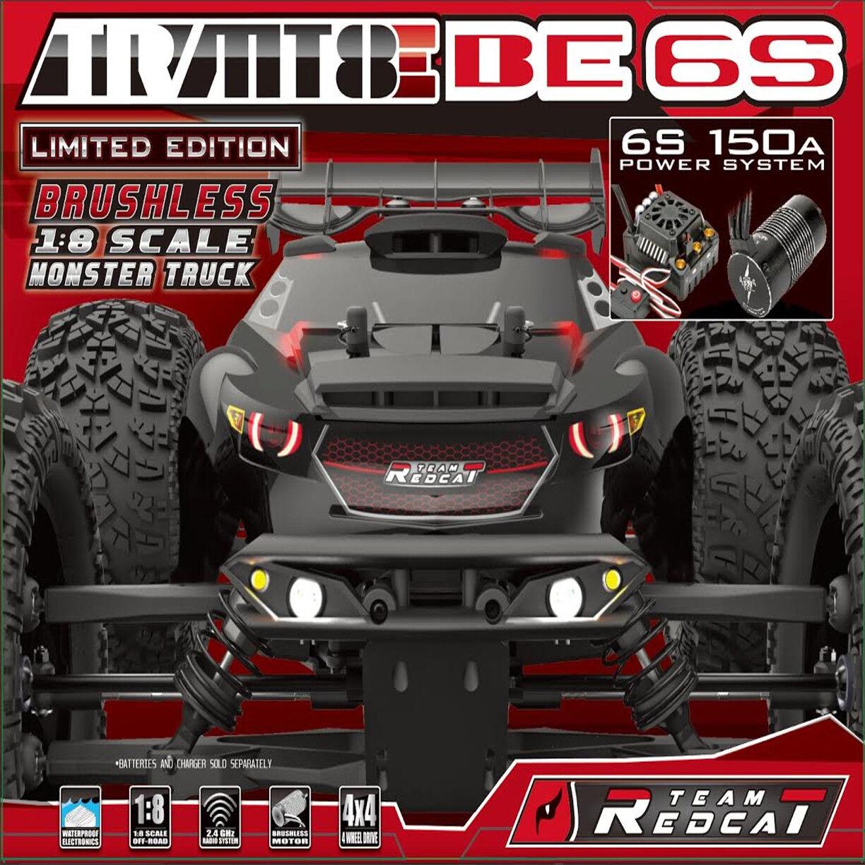 Venta barata Redcat equipo SIN ESCOBILLAS REDCAT TR-MT8E BE6S 18 camión monstruo monstruo monstruo 4WD con la radio  oferta especial