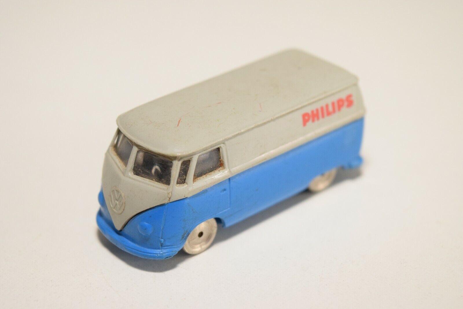 LEGO 1 87 VW VOLKSWAGEN TRANSPORTER T1 PHILIPS DUTCH WERBE EXCELLENT RARE SELTEN