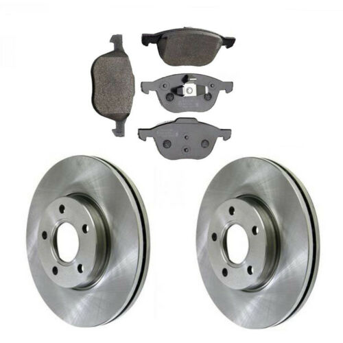 1.6 FRONT 2 BRAKE DISCS /& PADS CHECK SIZE CHOICE FORD FOCUS MK3 2011-2016 1.0