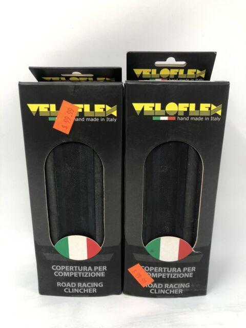 "Veloflex Corsa  700x28c open tubular /""Clincher/"" tire black//black Brand NEW 2020"