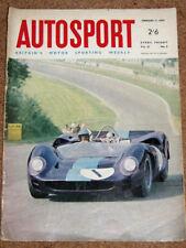 Autosport February 11th 1966 *Daytona 24 Hours & Argentine Temporada F3*