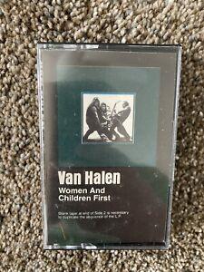 Van-Halen-Women-And-Children-First-Cassette-Tape-VG