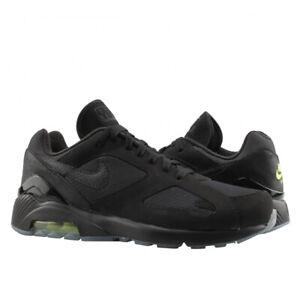 Nike Air Max 180 Black Volt Night Ops Running Shoes Aq6104 001 Size 11