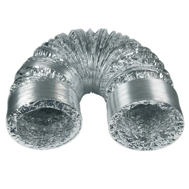 Abluft Schlauch Flexrohr flexibel 150mm Aluminium 3m Trockner Abzugshaube Klima