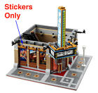 Stickers for LEGO 10232 Palace Cinema Guardians of the Galaxy Vol 2 Theater