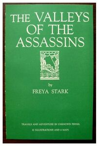 1934-Original-Prospectus-THE-VALLEYS-OF-THE-ASSASSINS-FREYA-STARK-Persia