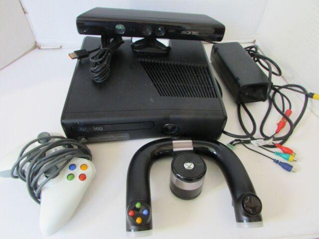 Microsoft Xbox 360 S Slim 250gb 1439 Black Gaming Console ...