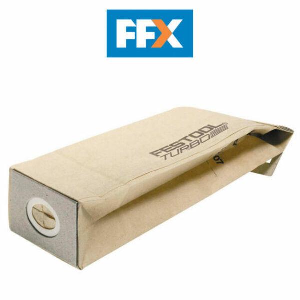 Festool 5x 1 Turbofilter TF II-RS 4//5 487704 für RS 4 RS4