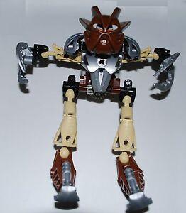 Lego 8568 Bionicle POHATU NUVA Toa Nuva 100/% Complete Figure no instructions