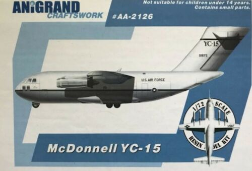 Air Force Neu Anigrand Craftworks AA-2126-1:72 McDonnell YC-15 U.S
