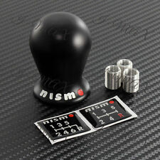 For Nissan NISMO Black Duracon Racing Shift Knob Fits GTR 350Z 370Z SILVIA JUKE