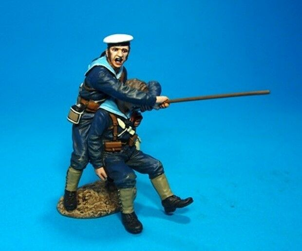 John Jenkins Designs Soldiers SRN-07 First Sudan War Wounded Sailor And Helper