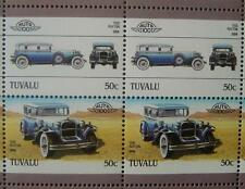 1930 RUXTON Car 50-Stamp Sheet / Auto 100 Leaders of the World